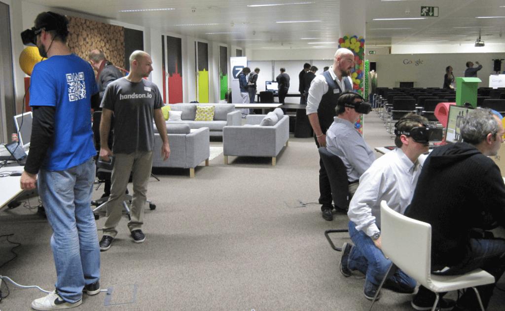 BE.VRmeetup vise le top de la réalité virtuelle