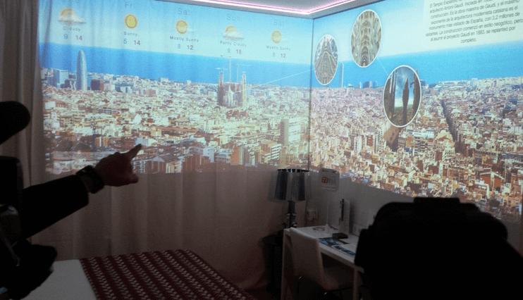 Worldline présente l'hôtel connecté à Barcelone