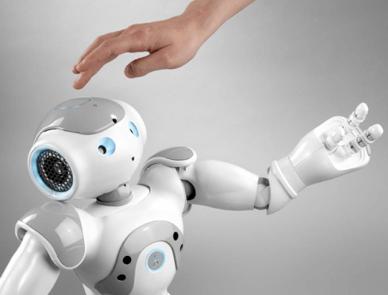 Nao, le petit robot, chez Vanden Borre City II