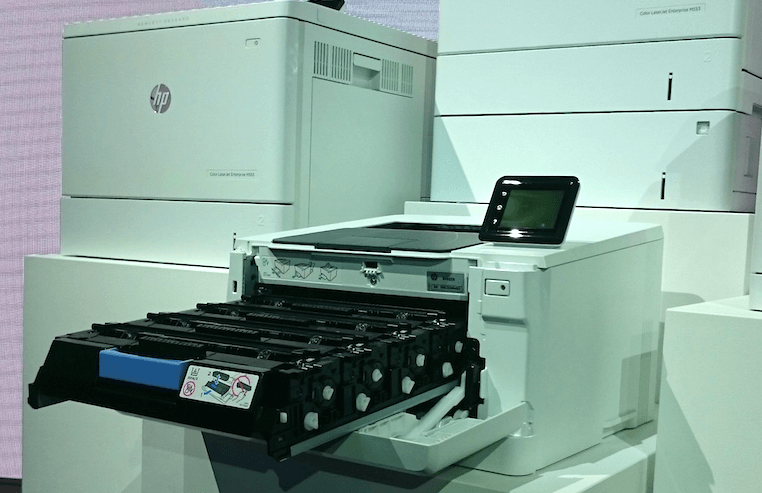 HP relance l'impression laser avec ses toners JetIntelligence