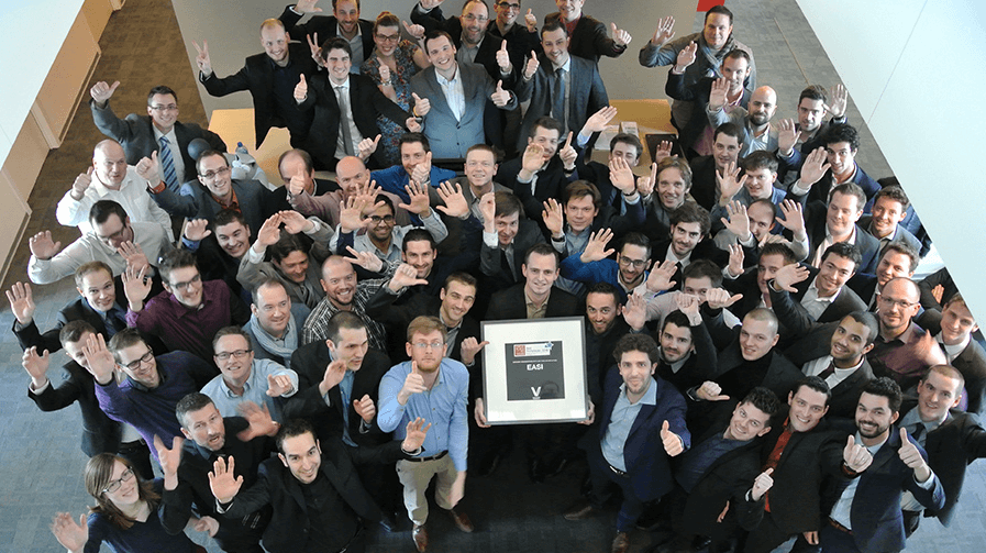 EASI, «Best WorkPlace 2015»