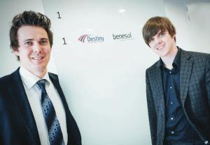 Daan et Samuel De Wever, Young Top Manager 2015