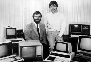 Microsoft, jeune quadra