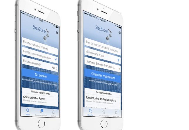 StepStone : forte hausse pour la recherche d'emploi... sur mobile