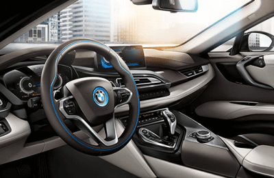 SAP Forum 2015, vitrine de l'innovation. La BMW i8 en vedette