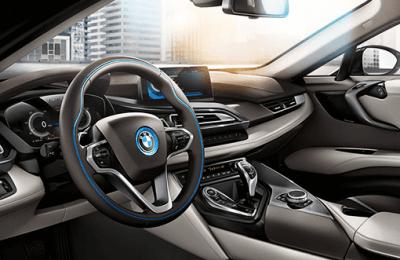 SAP Forum 2015, vitrine de l'innovation. La BMW i8 en vedette