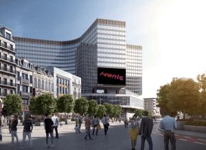 Mobilier urbain à Bruxelles : toujours plus digital avec Clear Channel