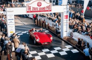 GeoDynamics trace les oldtimers du Zoute Grand Prix