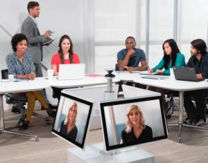 Polycom, espace de collaboration