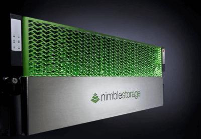 Nimble Storage monte dans les tours