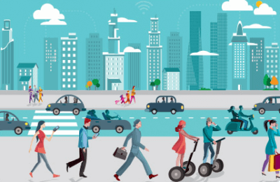 Proximus couleurs Smart Mobility