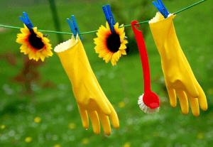 Nettoyage de printemps, de plus en plus en ligne
