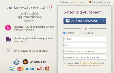 Vente-Exclusive.com élu meilleur magasin en ligne de Belgique