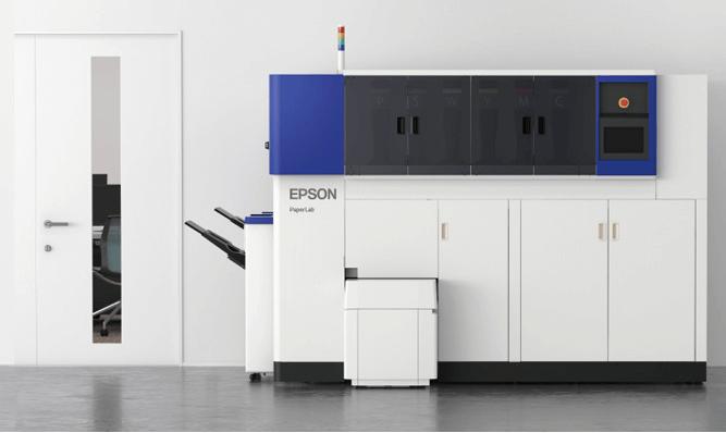 PaperLab : l'imprimante d'Epson qui recycle le papier