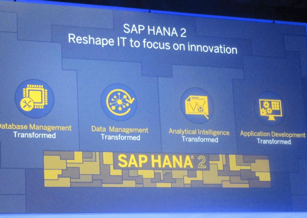 SAP HANA 2, nouvelle génération, nouveau challenge