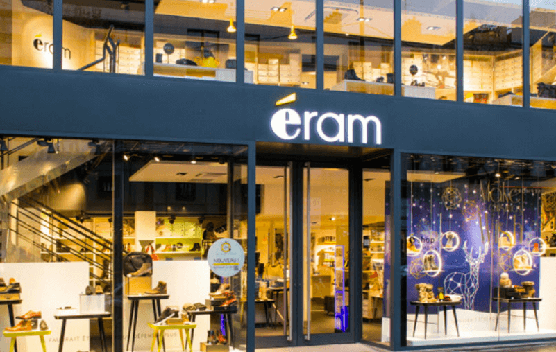 Eram ferme ses magasins… et se recentre via E-Lab
