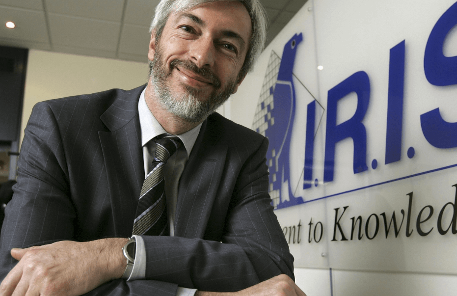 Pierre De Muelenaere et The IRIS Book, 33 ans d'entreprenariat