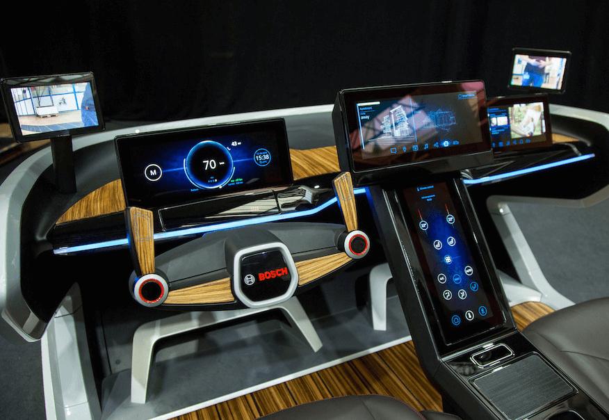 La voiture, troisième espace de vie selon Bosch