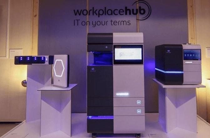 Workplace Hub, plateforme informatique de l'entreprise connectée