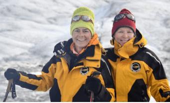 Pascale Van Damme, directrice générale de Dell EMC Belux de retour. L'expédition en Alaska a permis de renforcer la prise de conscience de la gravité du réchauffement climatique