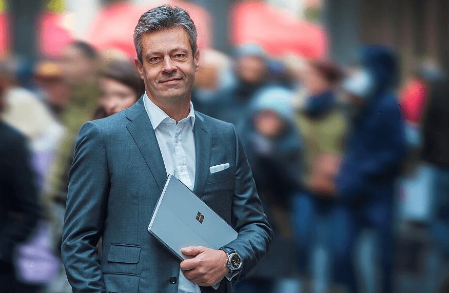 Didier Ongena à la tête de Microsoft Belgique & Luxembourg