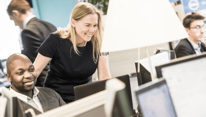 Pascale Van Damme de Dell EMC Belux élue 2017 Digital Woman of the Year par le Digital Leadership Institute lors de la cérémonie de remise des prix European Ada Awards