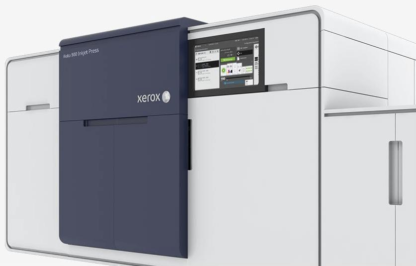 En 2019, 58% du volume total de la production couleur digitale sera imprimé sur des périphériques jet d'encre. Xerox sera aux premières loges.