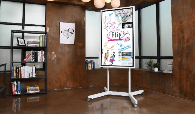 Samsung WM55H, le flip chart réinventé à l'heure du digital