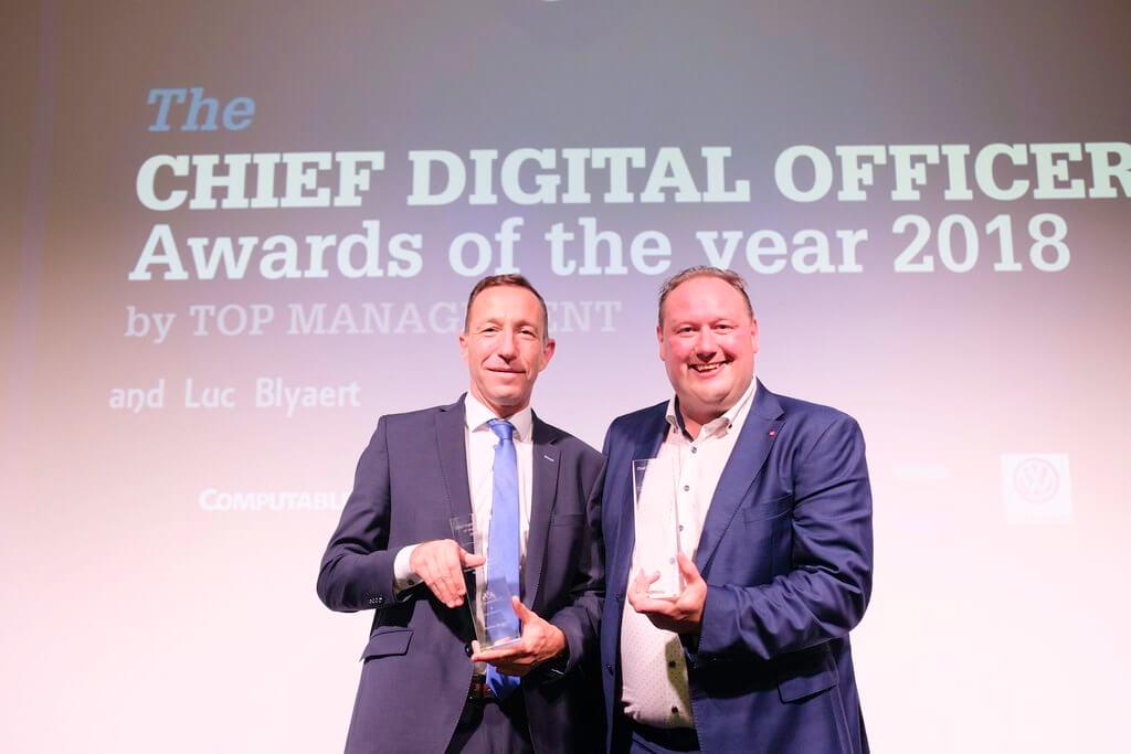 Benoît Degotte et Geert Van Mol élus Belgian Chief Digital Officer 2018 ! Quelle est la mission d'un CDO ? Quel est, réellement, le pouvoir d'action ?