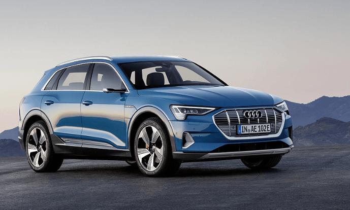Avec l'e-tron, Audi devient le premier constructeur allemand à commercialiser un modèle électrique dans le segment Premium