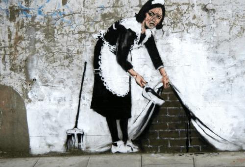 GDPR… Et si, comme Banksy, on broyait tout ?