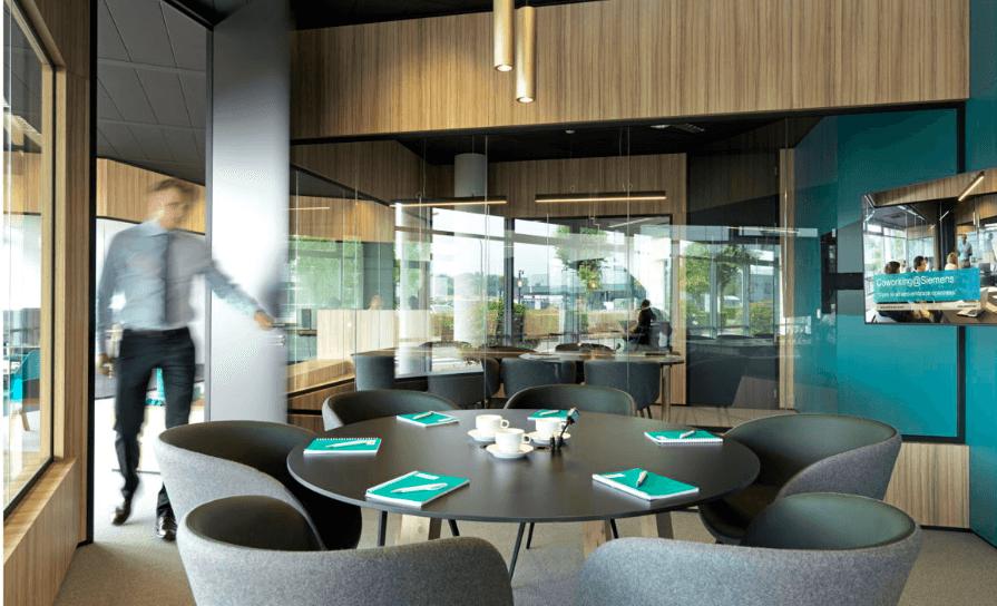 Siemens ouvre Huizingen aux coworkers