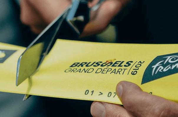 Tour de France, maillot jaune au numérique