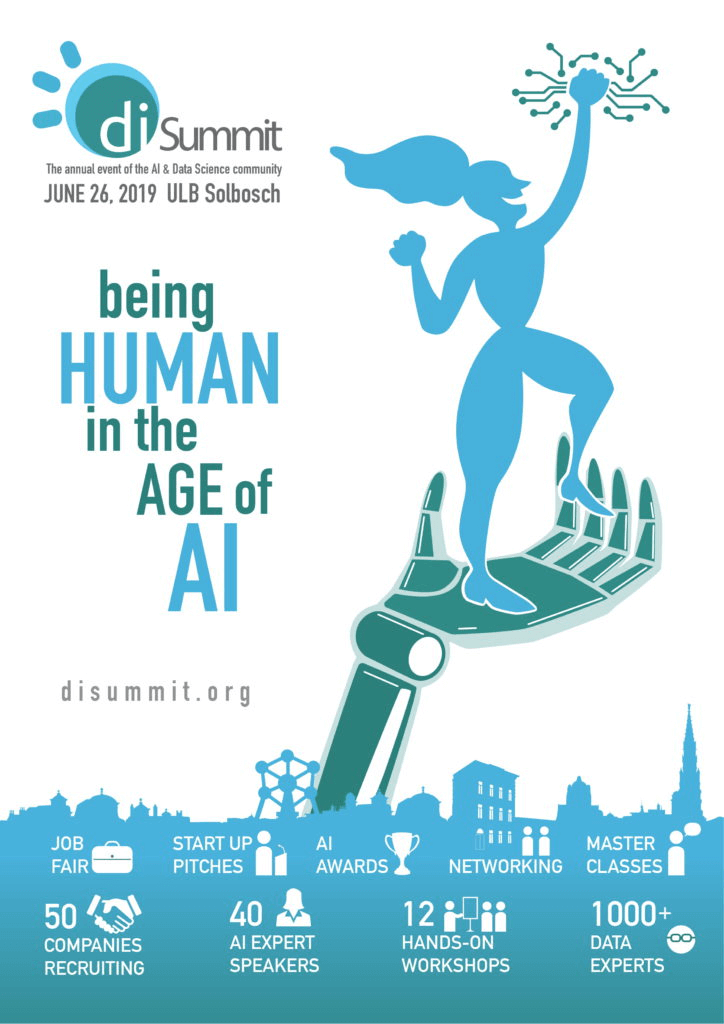 26 Juin 2019   AI Summit – Being Human in the age of AI