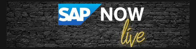 SAP NOW Live | Kick-off le 22 octobre