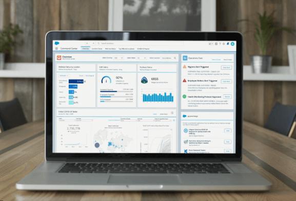 Work.com rassemble un ensemble d'applications et ressources pour accélérer la relance des économies mises à l'arrêt par la pandémie.