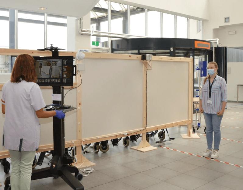 Caméra thermique de pointe à Mariaziekenhuis