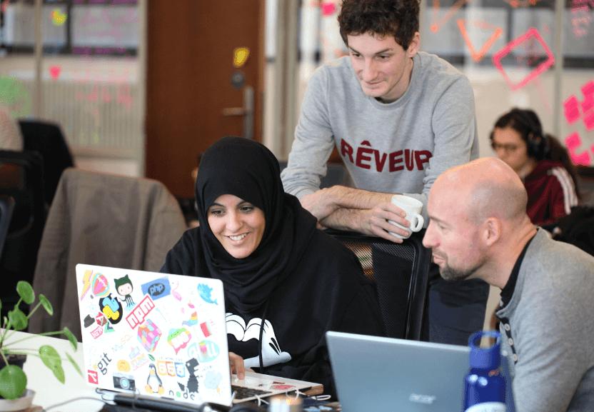 Un million de personnes, pas moins ! Le campus numérique BeCentral, qui vient de fêter ses trois ans, s'est lancé un nouveau défi : passer à l'échelle européenne.